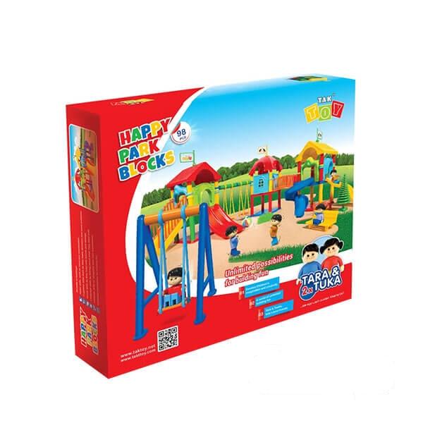 اسباببازی ساختنی پارک شادی ۹۸ قطعه