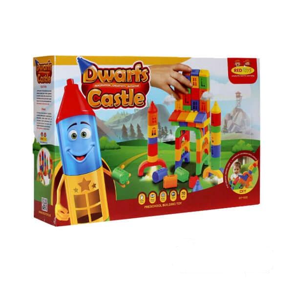 اسباب بازی ساختنی قلعه کوچولوها