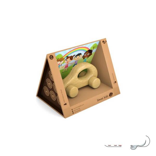 اسباب بازی چوبی لیموکیدز مدل ماشین