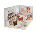 اسباب بازی خانه مینیاتوری مدل اتاق خواب