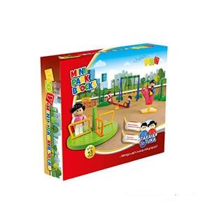 اسباب بازی ساختنی مینی پارک شادی (۳۷ قطعه)