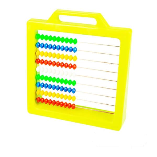 بازی آموزشی چرتکه رنگ زرد