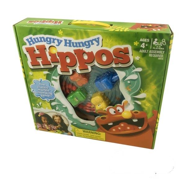بازی اسب آبی گرسنه بزرگ (hungry hippos)