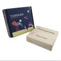 بازی فکری تانگرام + جعبه چوبی