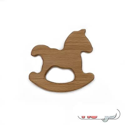 دندانگیر چوبی والینور مدل اسب
