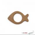 دندانگیر چوبی والینور مدل ماهی