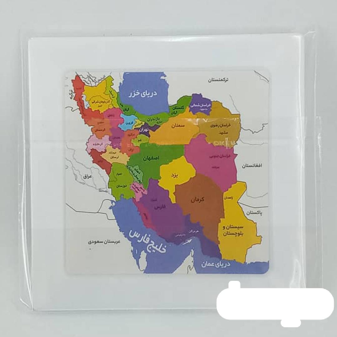 جدول هوش نقشه ایران