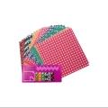 کاغذ اوریگامی طرح ژاپنی ۱۴ سانتیمتری