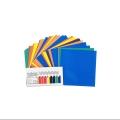 کاغذ اوریگامی یک رو رنگی ۱۰ سانتیمتری