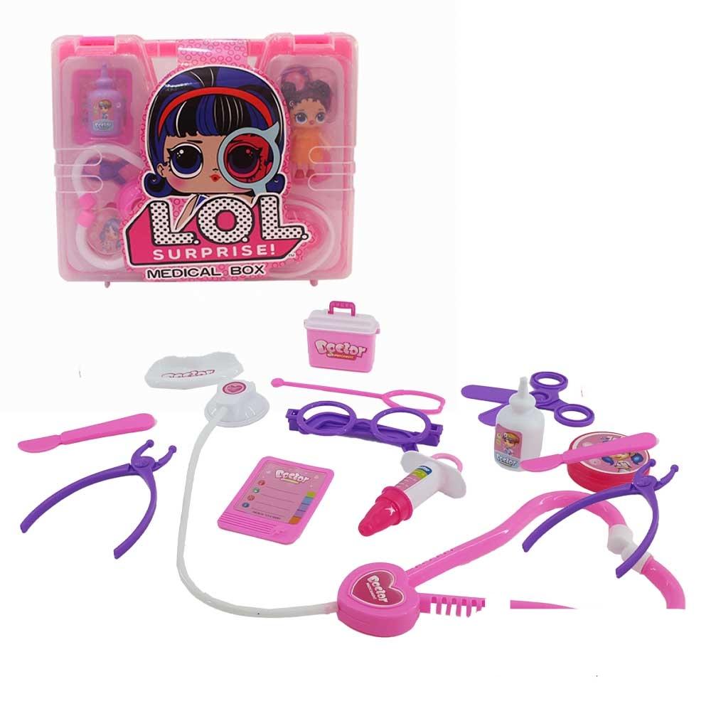 کیف تجهیزات پزشکی عروسک دار LOL