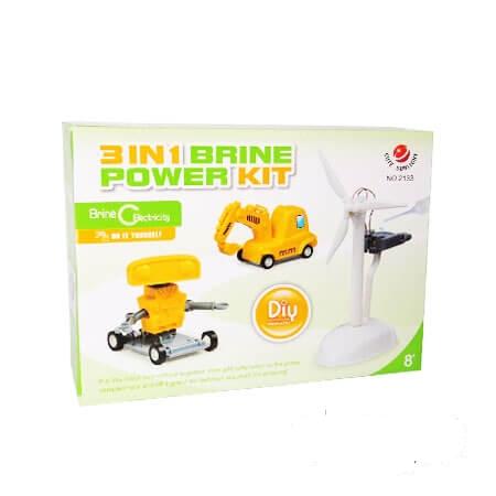 کیت ربات آبنمکی Brine Power مدل ۳*۱