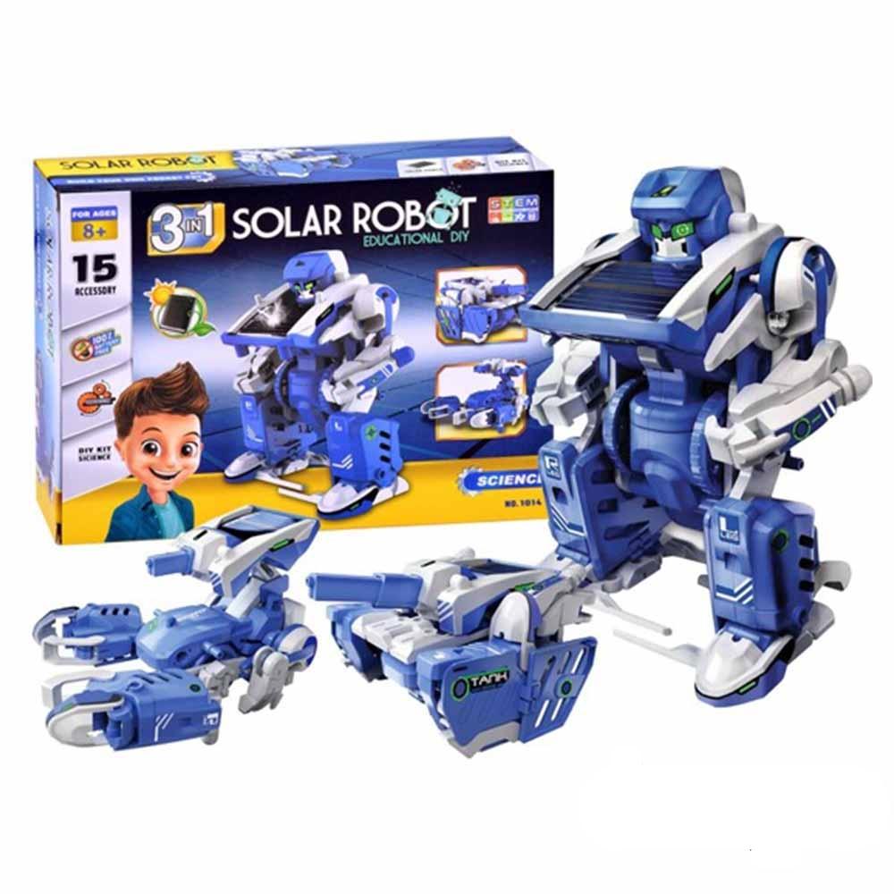 کیت ربات انرژي خورشیدی مدل ۳*۱