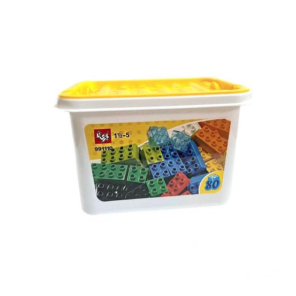 لگو باکس 80 قطعه