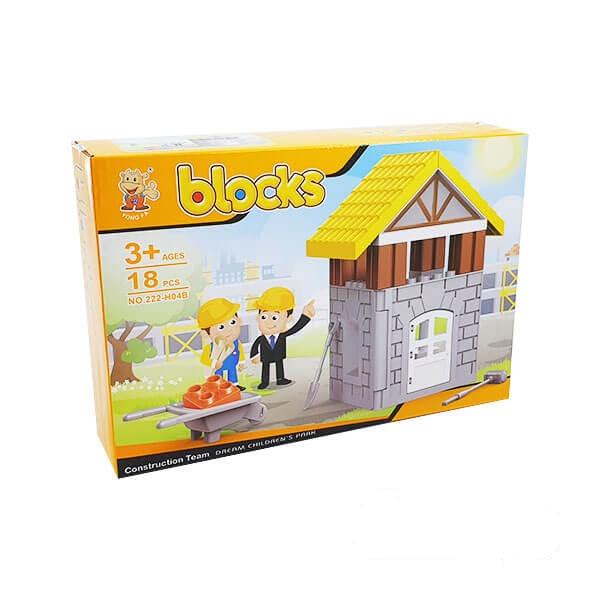 لگو بلاکس ساختمانی مدل کارخانه