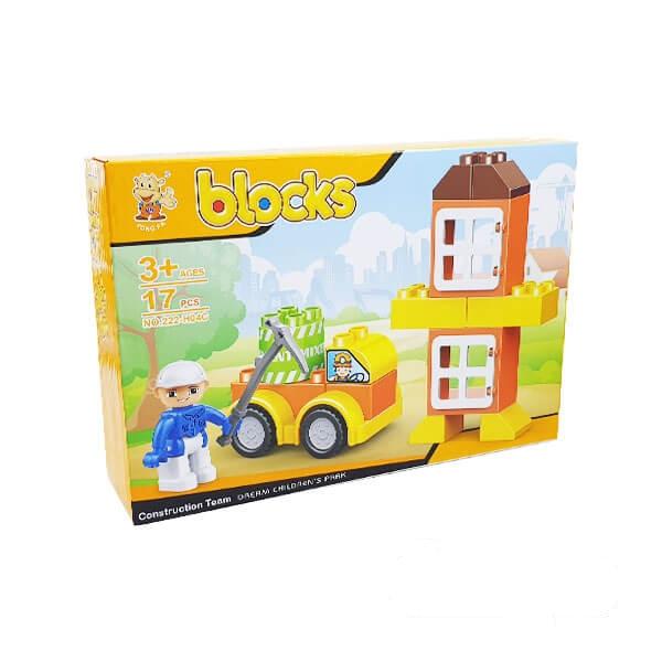 لگو بلاکس ساختمانی مدل میکسر