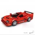 لگو ماشین رالی قرمز ۵۱۱۵
