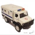 ماشین فلزی کامیونت آمبولانس (عقبکش موزیکال)
