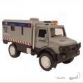 ماشین فلزی کامیونت پلیس (عقبکش موزیکال)