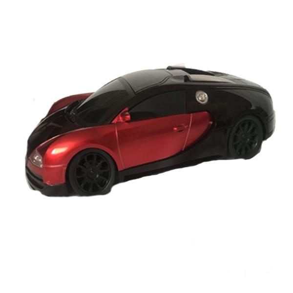 ماشین کنترلی مدل مسابقه ای قرمز و مشکی