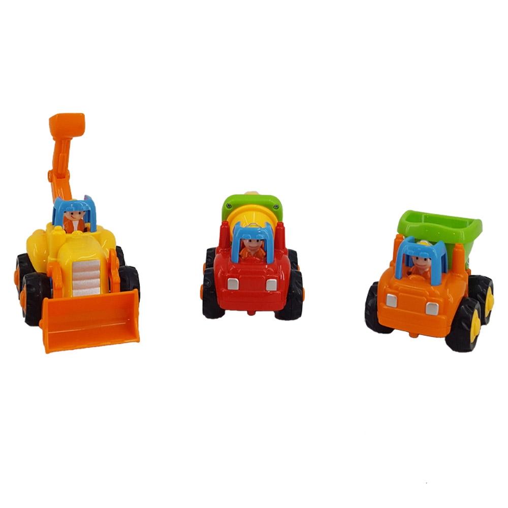 مجموعه ۳ عددی ماشینهای راهسازی
