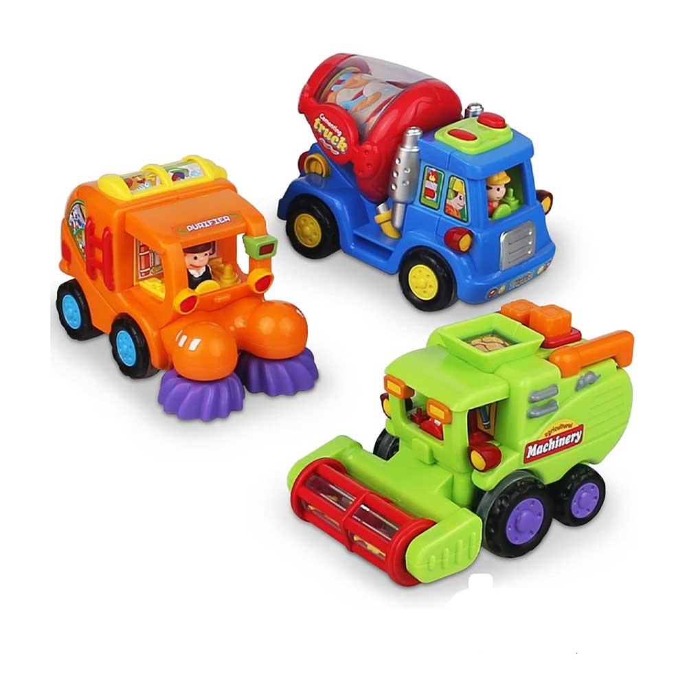 مجموعه ۳ عددی ماشینهای شهرداری هولا
