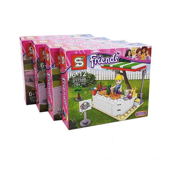 مجموعه لگو فرندز SY Friends مدل sy759