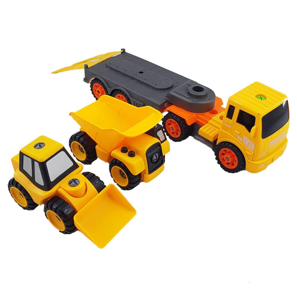 مجموعه ماشینهای راهسازی ریموتدار