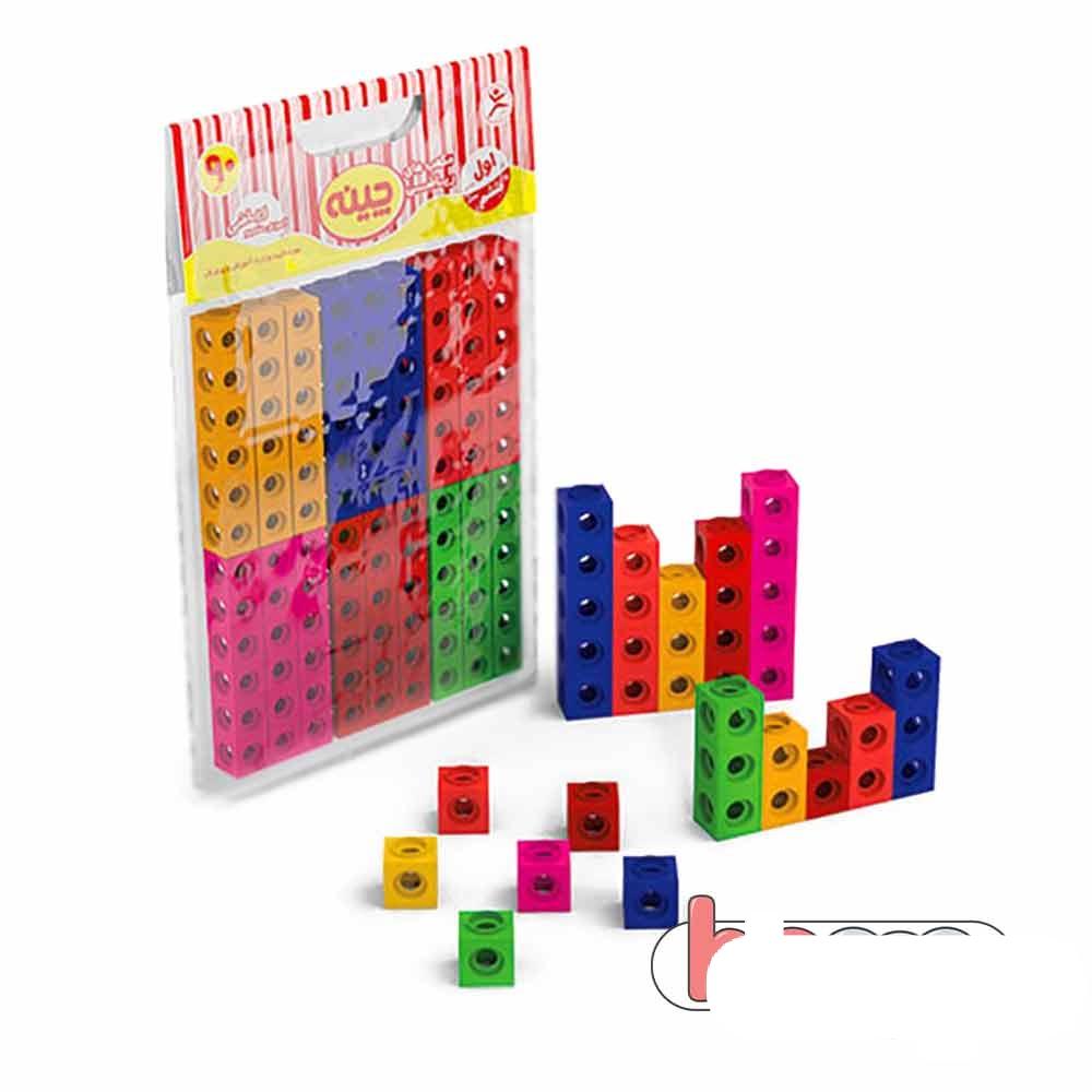 مکعب های ریاضی چینه ۹۰ تایی