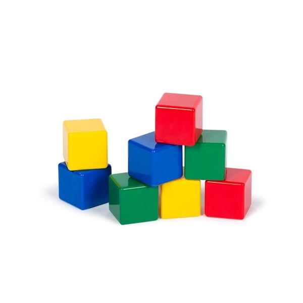 مکعبهای رنگی کوچک