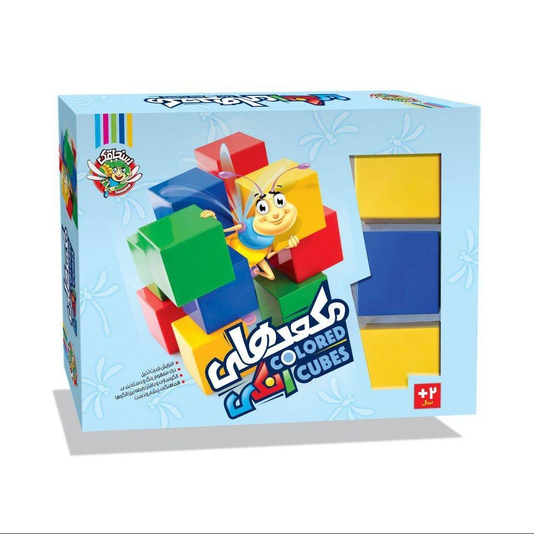 مکعب های رنگی سنجاقک