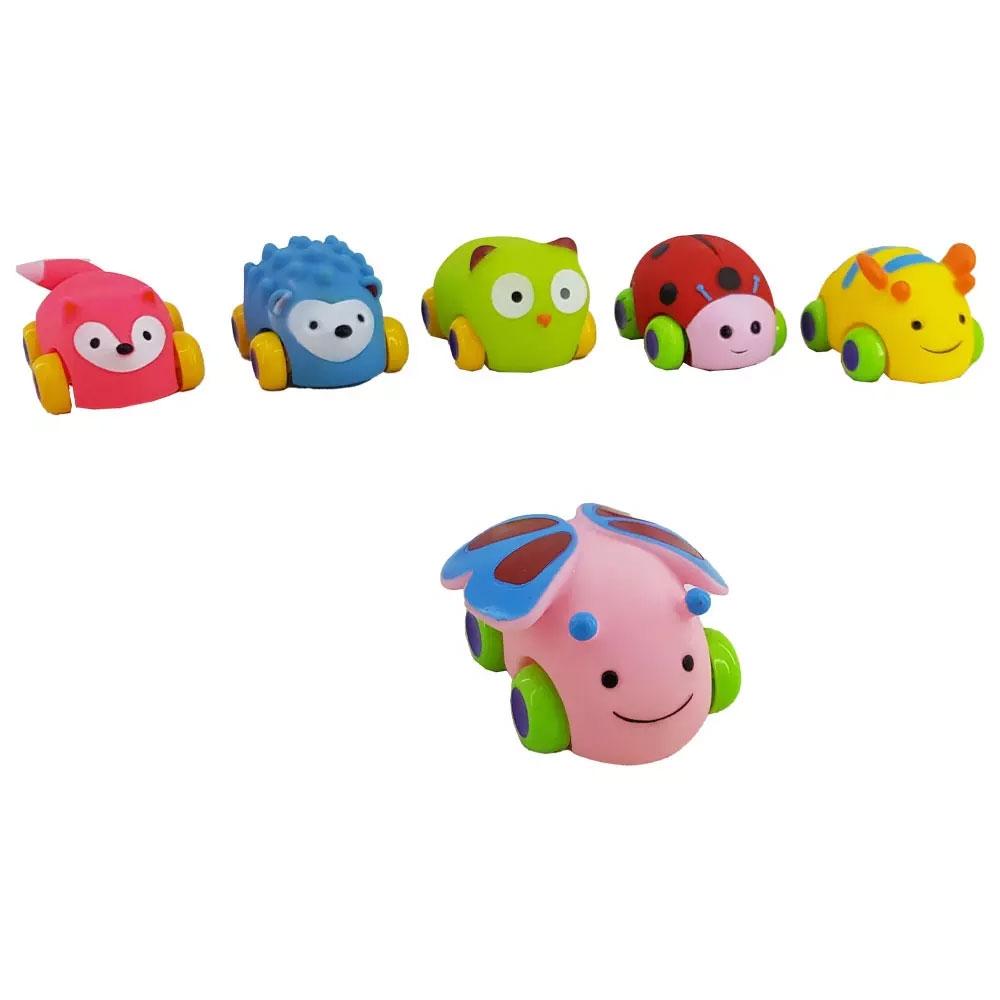 اسباب بازی ماشین نوزادی مدل حیوانات