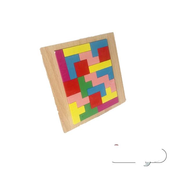 پازل اشکال هندسی کوچک مدل تتریس