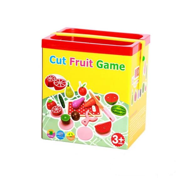 پازل چوبی میوه های مگنتی