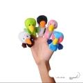 عروسک انگشتی شادی رویان مدل پرندگان