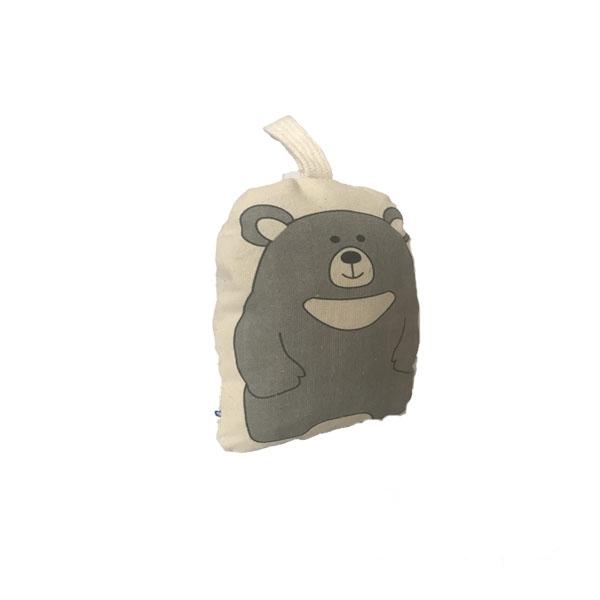 عروسک بالشتی مدل خرس یقه سفید