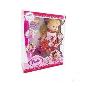عروسک بیبی لباس قرمز