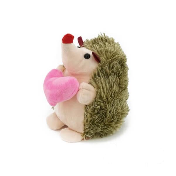 عروسک جوجه تیغی قلب دار