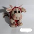 عروسک جورابی گاو