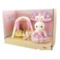 عروسک خرگوش کوچولوی مینیاتوری- طرح تاب