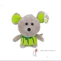 عروسک موش میوهای سبز