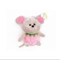 عروسک موش میوهای صورتی