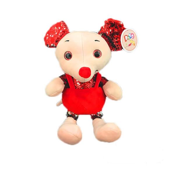 عروسک موش پولکی