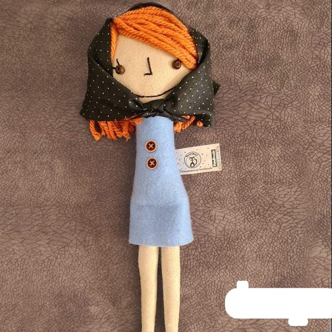 عروسک پارچه ای خانواده ی خسرو خان، منیژه خانم