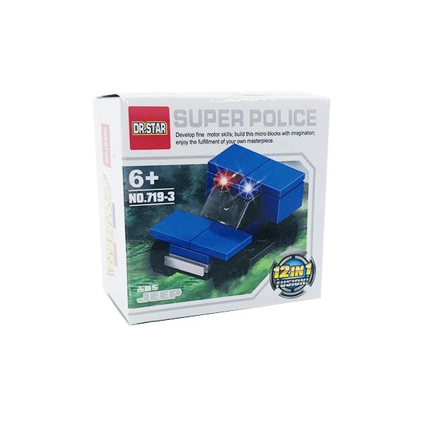 ساختنی دکتر استار ۳ مدل Super Police جیپ
