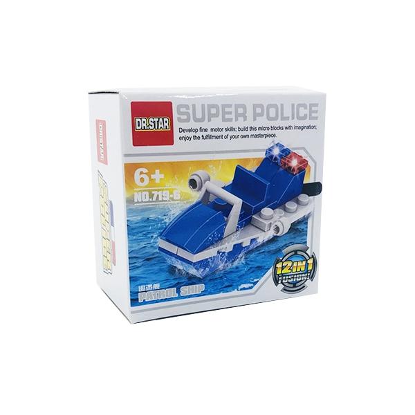 ساختنی دکتر استار ۶ مدل Super Police کشتی گشت زنی