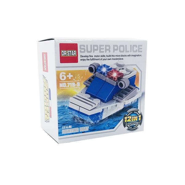 ساختنی دکتر استار ۹ مدل Super Police کشتی جنگنده