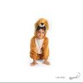 تنپوش نمایشی کودک مدل شیر سایز ۳